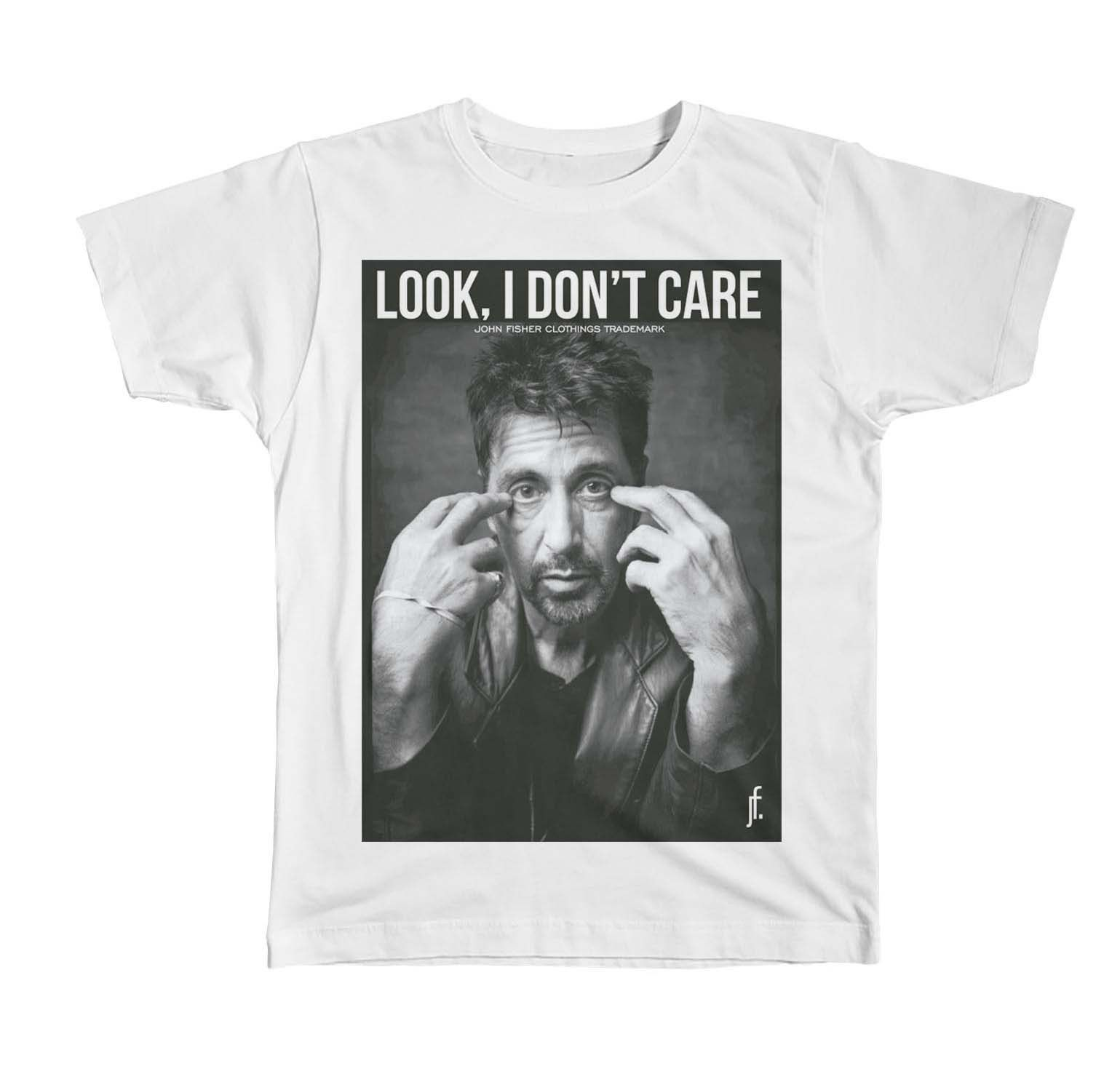 T-Shirt Look I Don't Care