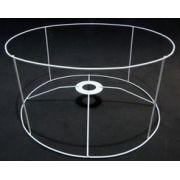 Aramado para cúpula CILÍNDRICA - 50X35 alt cm - 4 Hastes