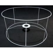 Aramado para cúpula CILÍNDRICA - 64X35 alt cm - 4 Hastes