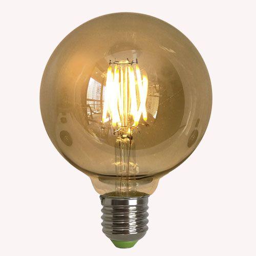 Lâmpada Filamento de Carbono G95 LED (110 e 220w)