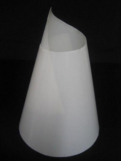 Opalina CÔNICA 10x17cm