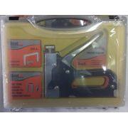 Grampeador 3 em 1, com Manual  para Tapeceiro  Com Maleta