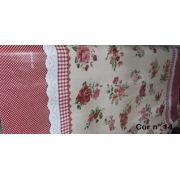 Toalha Plástica Térmica Para Mesa, Vendida Por Metro, com 1,40m de Largura