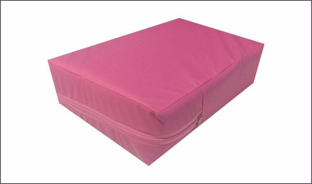 Capa Casal Queen Impermeável Colchão  Pink