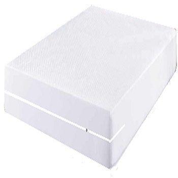capa hospitalar para colchão de casal impermeável com zíper cor branca