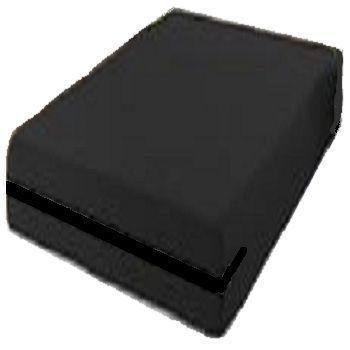 capa hospitalar para colchão de casal impermeável com zíper cor preta