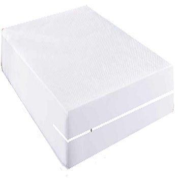 capa impermeável hospitalar para colchão king-size na cor BRANCA