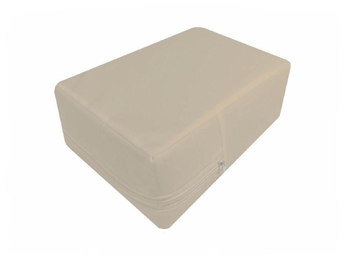 Capa Para Colchão Berço Mini Cama Impermeável Branca