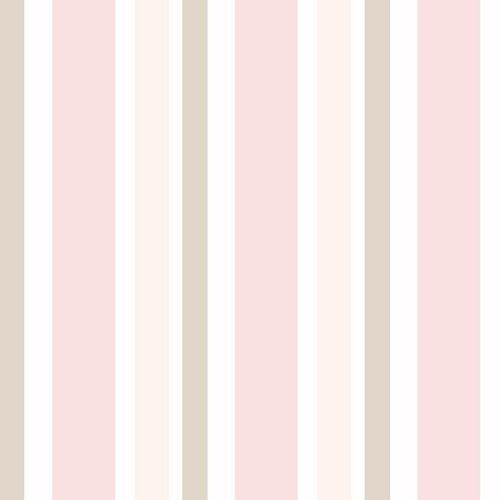 ad4946e31 Papel de Parede Adesivo com listras verticais rosa marrom branco ...