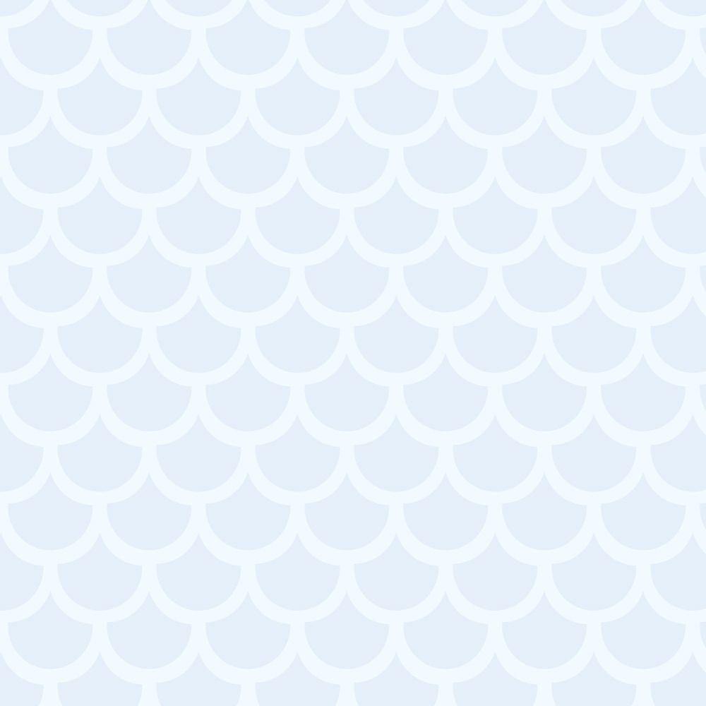 7ef4ba43e Papel de Parede Adesivo Tipo Escamas em Azul e Branco - SSJGE-191 ...