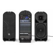 Caixa Acústica - Kit Portátil / Mala - Ativa - 700W RMS - Multiuso c/ Mixer - FREEPACK812 - PROEL