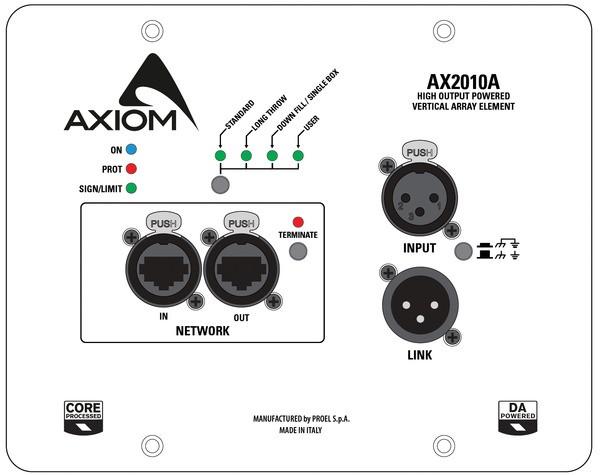 Caixa Acústica - Line Array - Ativo - AX2010A - AXIOM