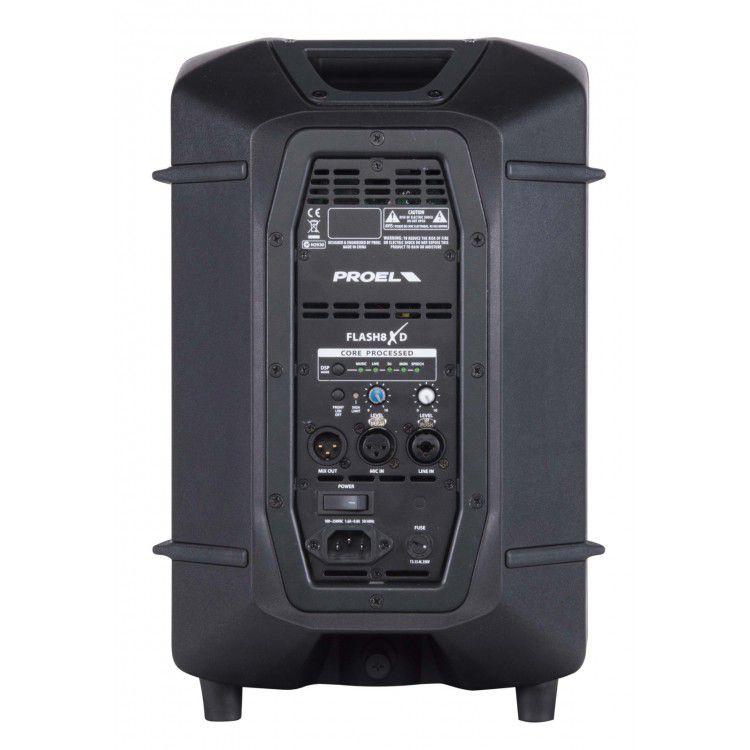 "Caixa Acústica Portátil 8"" - Ativa - 300W RMS - FLASH8XD - PROEL"
