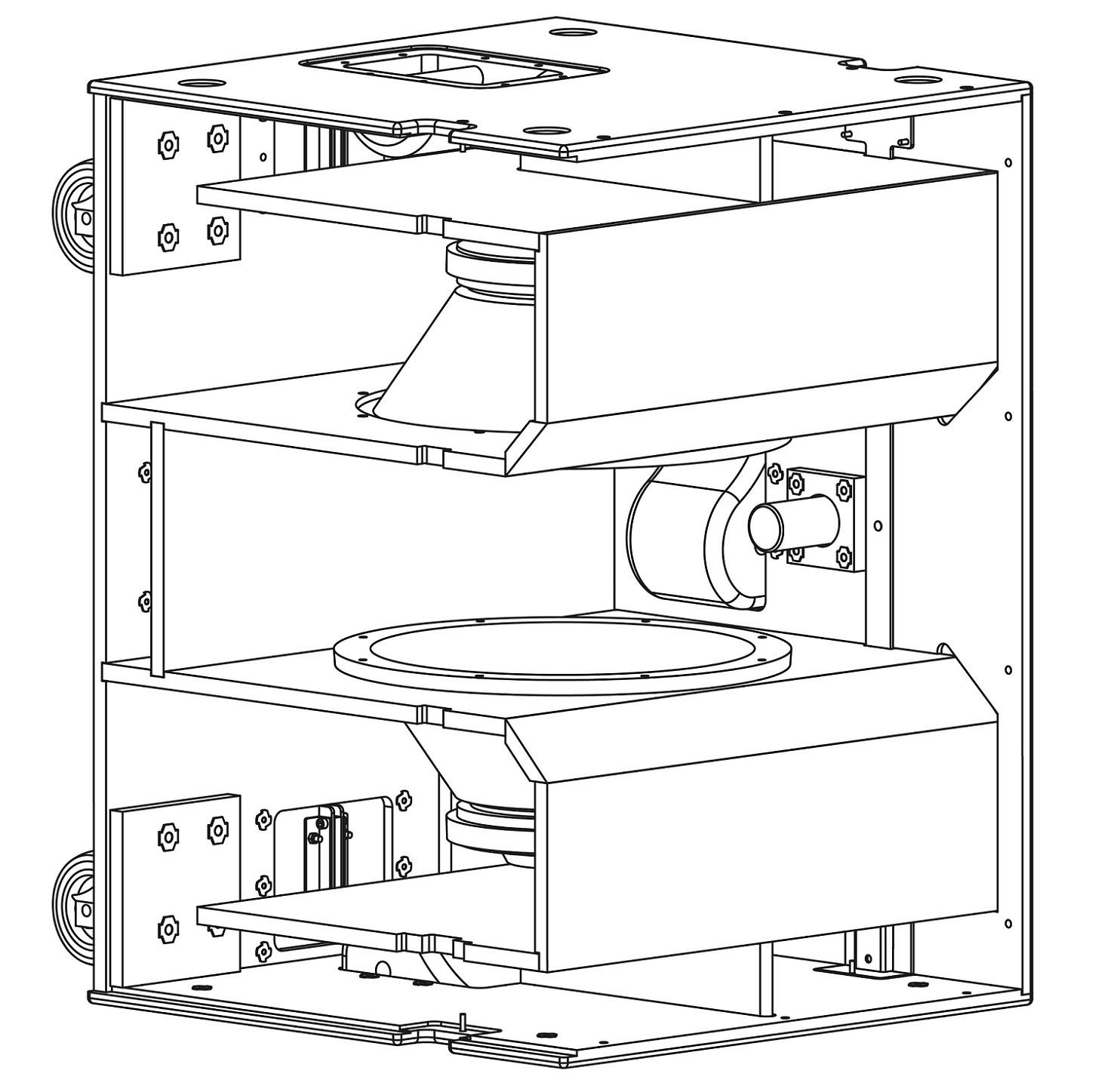 """Caixa Acústica - Subwoofer - Ativo - 2 x 15"""" - SW215A - AXIOM"""