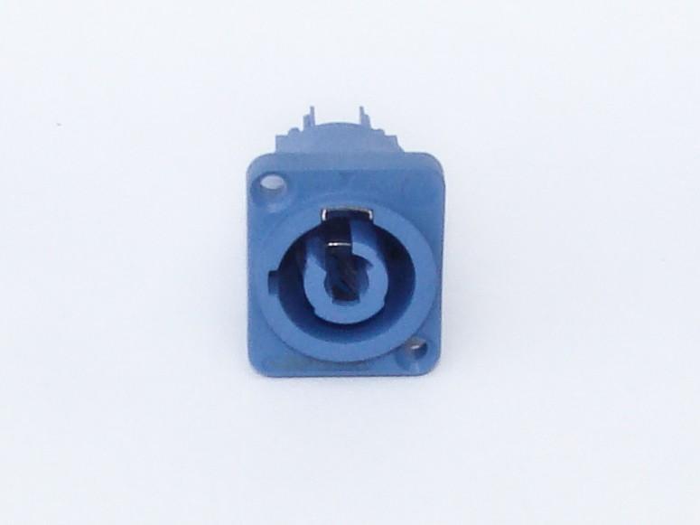 Conector POWERCON 16A - Azul de Painel - AK PWCAP - ARKO AUDIO