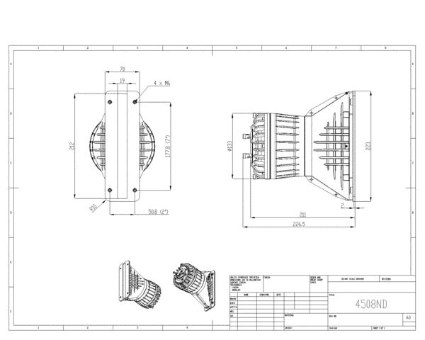 """Driver Coaxial 3,5""""x1,75"""" - NEODÍMIO - 150W + 80W AES - 112 dB - 8 ohms - 4508ND - BMS"""