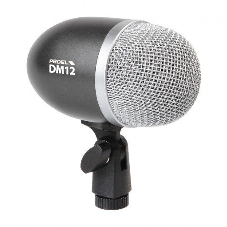 Kit de Microfones para Bateria - 8 peças - DMH8XL - PROEL