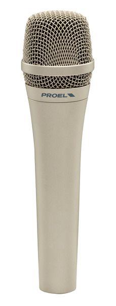 Microfone de Mão - com fio - Dinâmico de Alta Sensibilidade - DM585 - PROEL