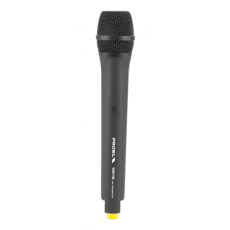 Microfone sem Fio - Bastão de Mão -  UHF - WM101M - PROEL
