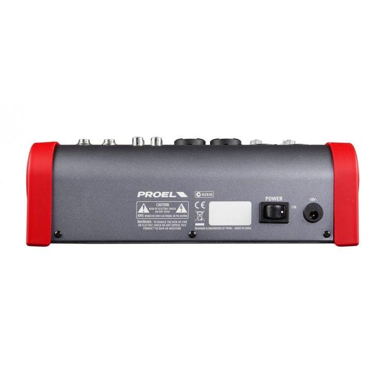 Mixer Analógico - 06 Canais - c/ Multiefeitos - M602FX - PROEL