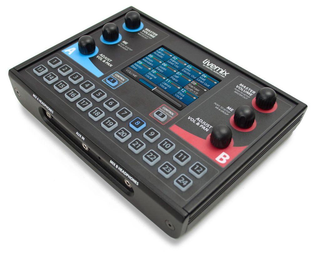 Mixer Duplo - Monitor de Uso Pessoal -  - CS-DUO - LIVEMIX