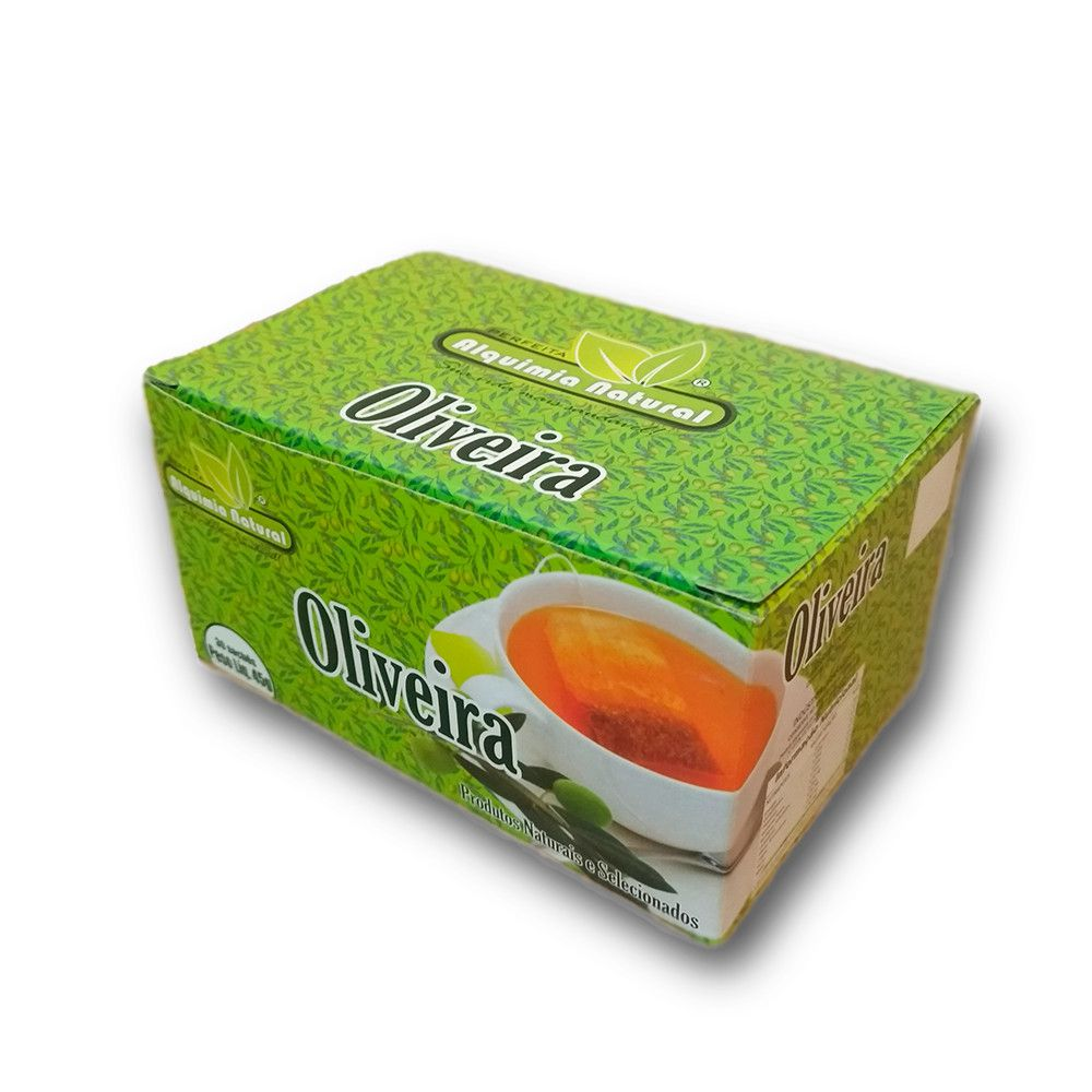 Chá de Oliveira - 30 Sachês  - NaturaFit