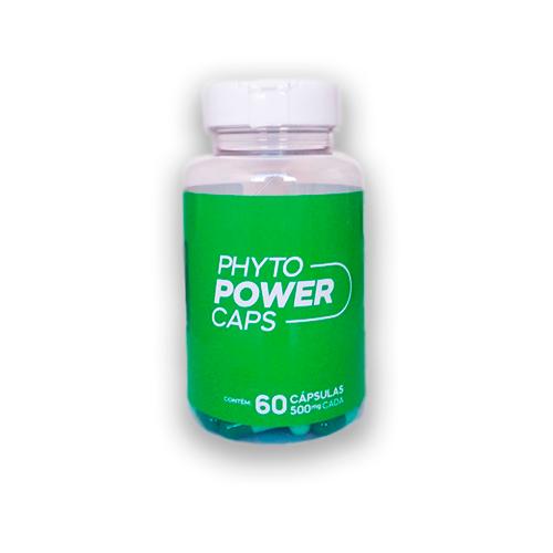 PHYTO POWER CAPS - 60 cápsulas de 500mg  - NaturaFit