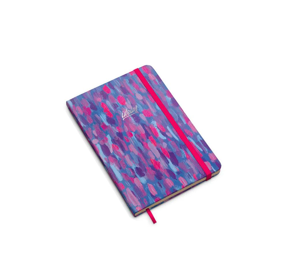 Caderno Canvas Neon Pontilhado (Bullet Journal)