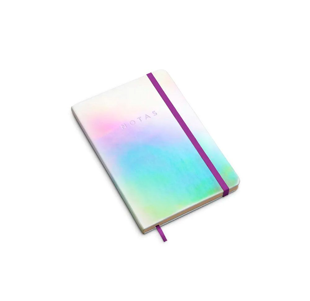 Caderno Holográfico Sem Pauta