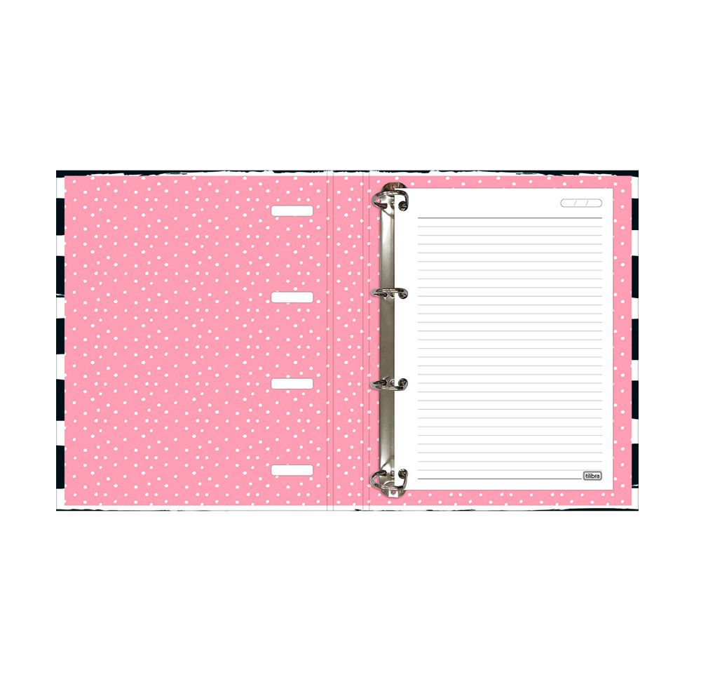 Caderno Argolado Love Pink