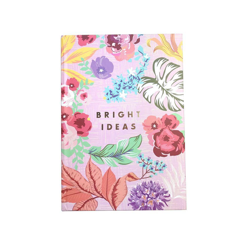 Caderno Bloco de Notas Flowers