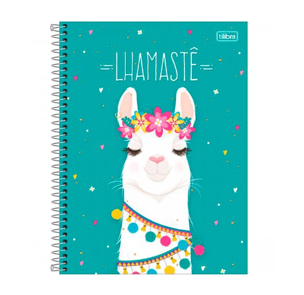 Caderno Hello! Lhama