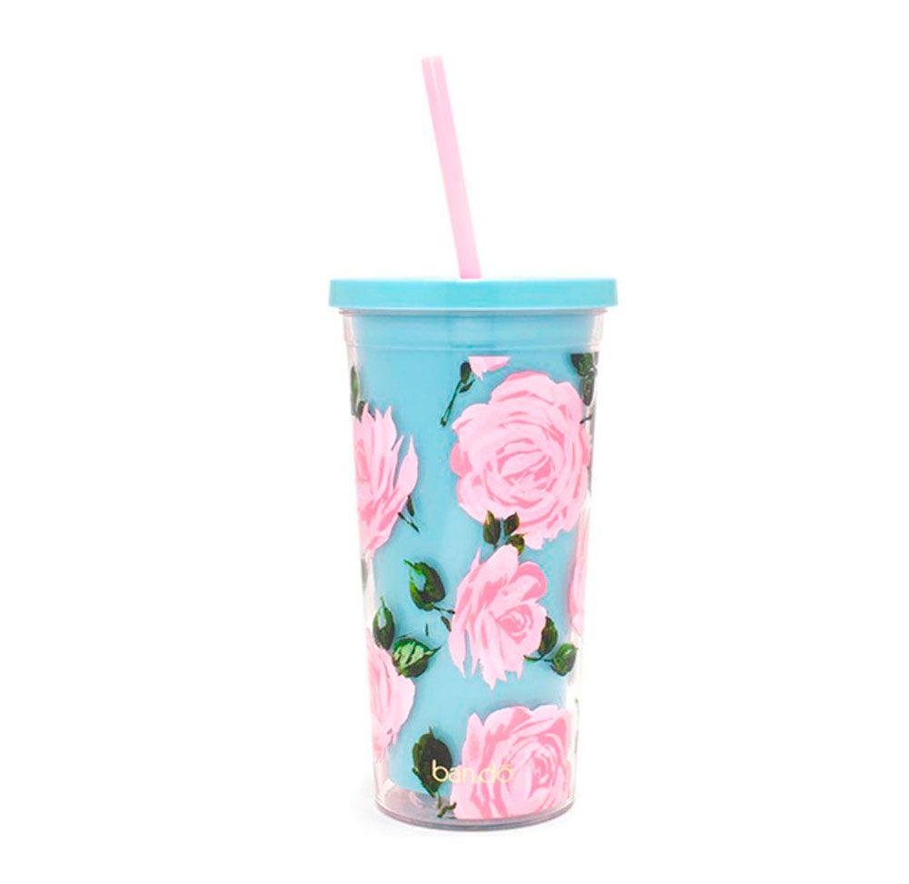 Copo Floral BPA Free