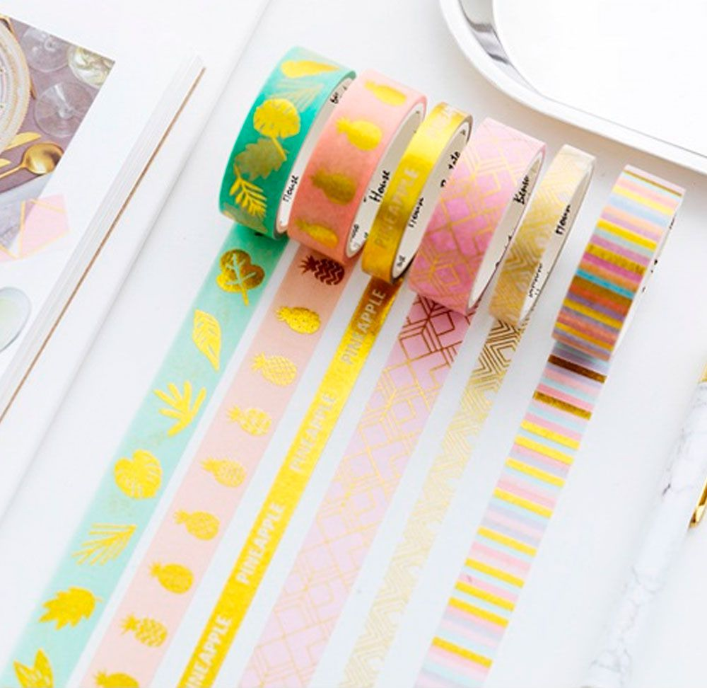Kit Washi Tape Paradise - 4 unidades