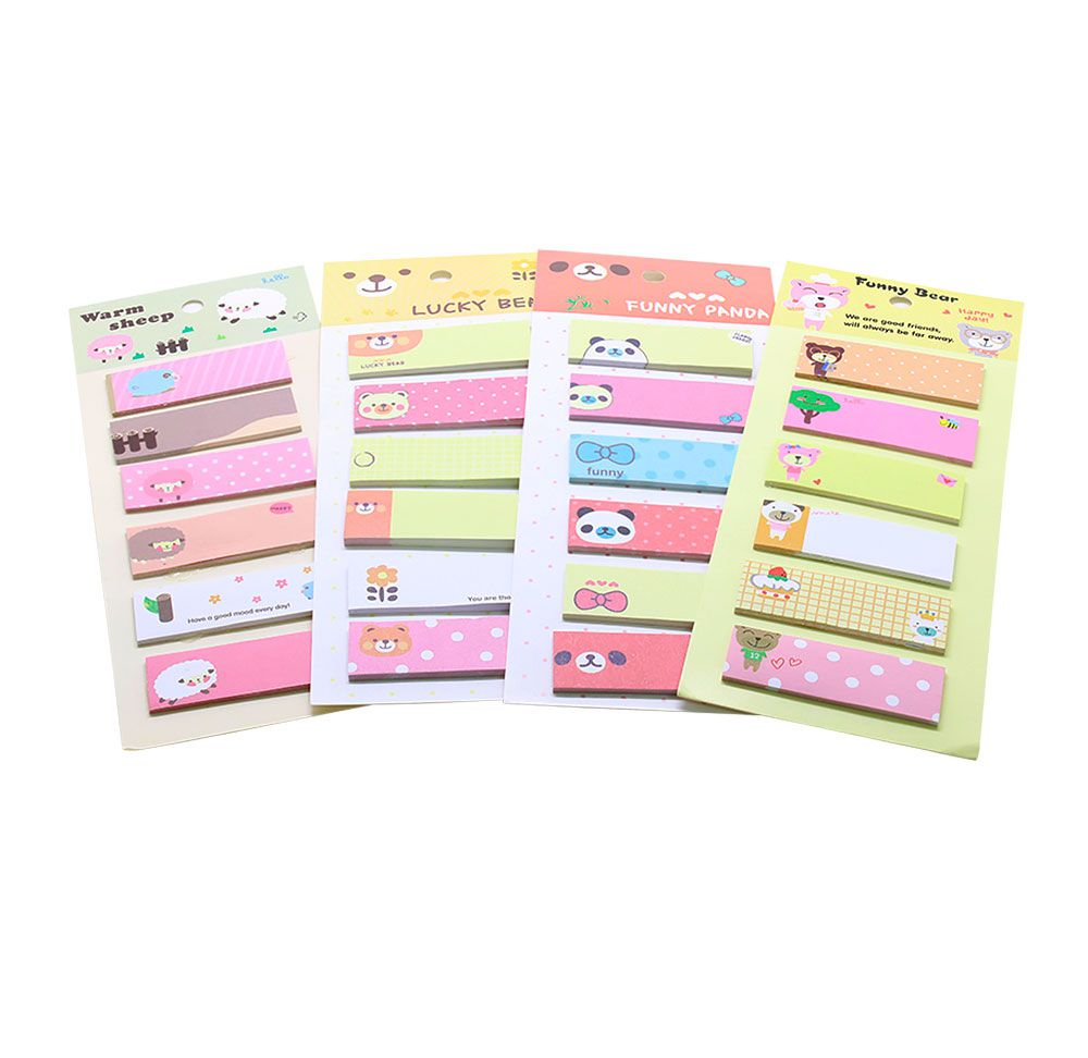 Sticky Note/Post-it  Bandeirinhas de Bichinhos