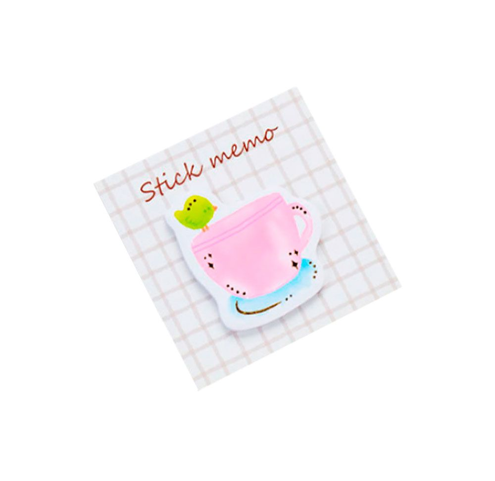 Sticky Note Stick Memo Doces Foil