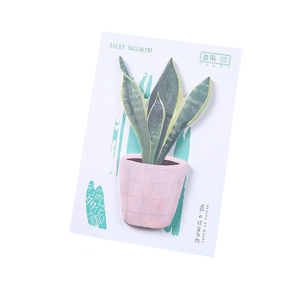 Sticky Note Succulent