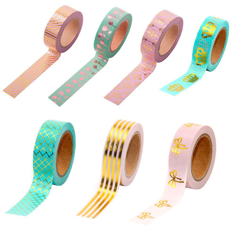 Washi Tape Metálica Foil