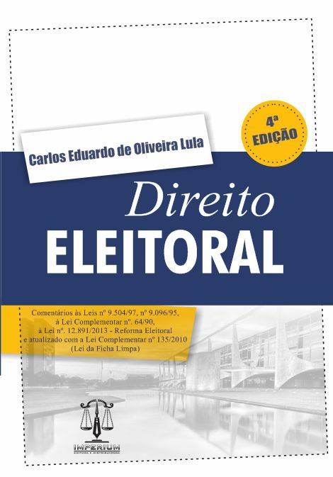 Direito Eleitoral - 4ª Edição