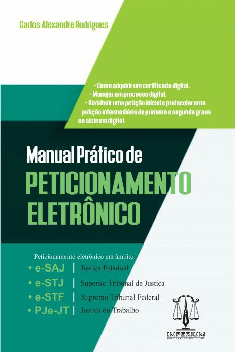 MANUAL PRÁTICO DE PETICIONAMENTO ELETRÔNICO
