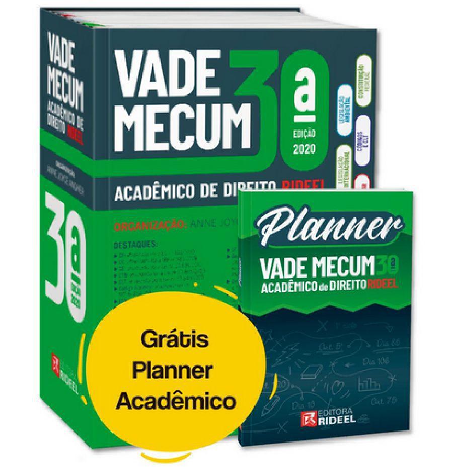 VADE MECUM ACADÊMICO DE DIREITO 2020 - 30ª EDIÇÃO