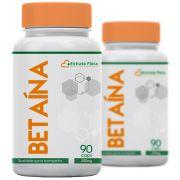 Betaína 300mg 90 Cápsulas (2 frascos)