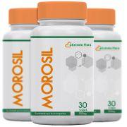 Kit Morosil 500mg 30 Cápsulas (3 frascos com selo de autenticidade)
