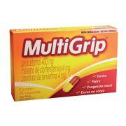 MultiGrip (paracetamol 400mg + maleato de clorfeniramina 4mg + cloridrato de fenilefrina 4mg) 20 Cápsulas