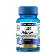 Ômega 3 Catarinense VEG 30 Cápsulas - extraído de algas