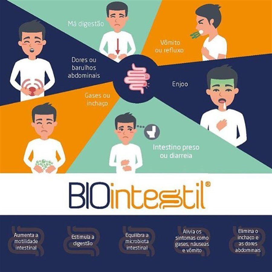 Biointestil 600mg 30 Doses
