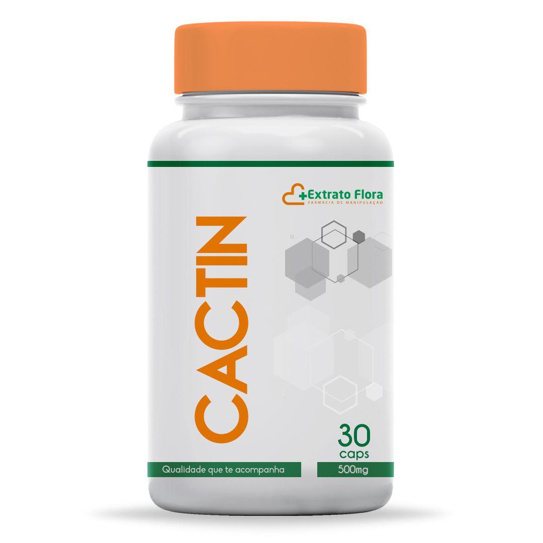 Cactin 500mg 30 Cápsulas (com selo de autenticidade)