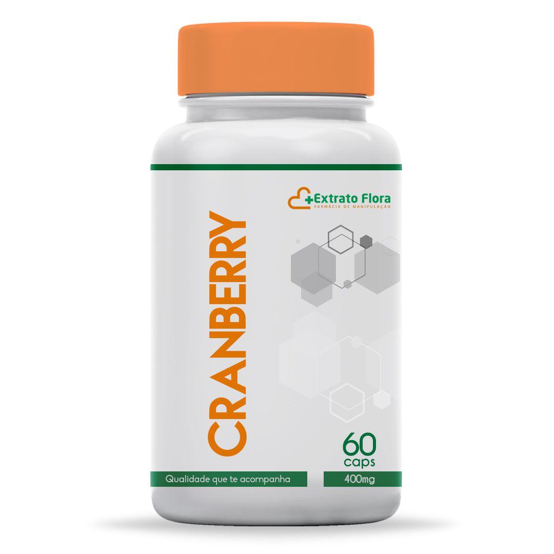 Cranberry 400mg 60 Cápsulas