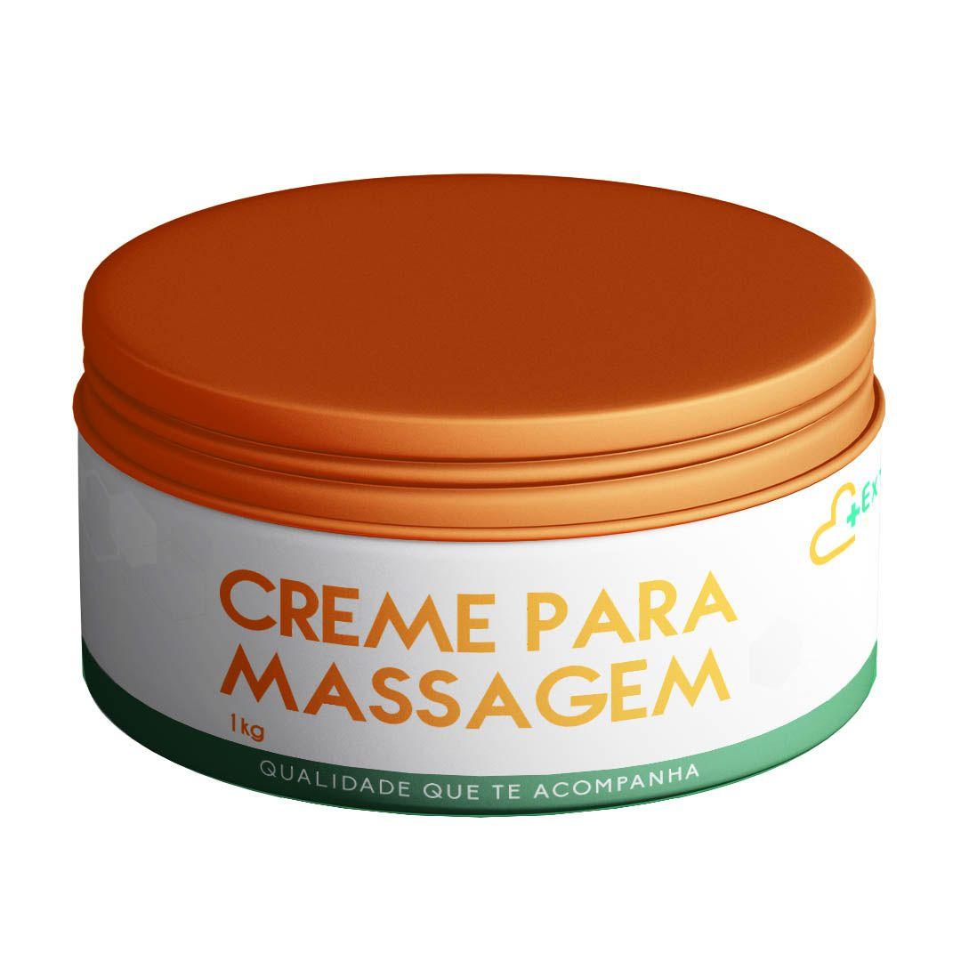 Creme Para Massagem 1kg ( algas marinhas, centella asiática, hera, arnica...)
