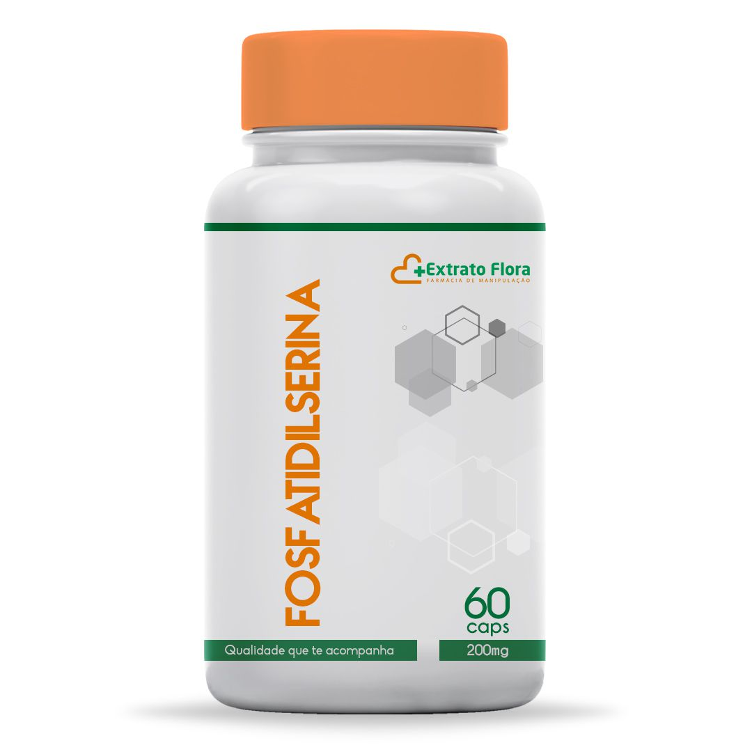 Fosfatidilserina 200mg 60 Cápsulas